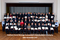 Waltham Forest Commanders Commendation Nov 17